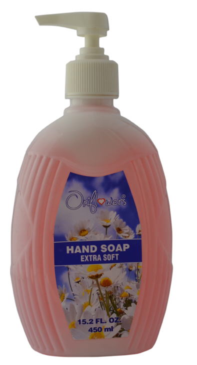 Oriflowers - Liquid Hand Soap 500ml 24 pcs in a box Box Size 372mmX238mmX205mm